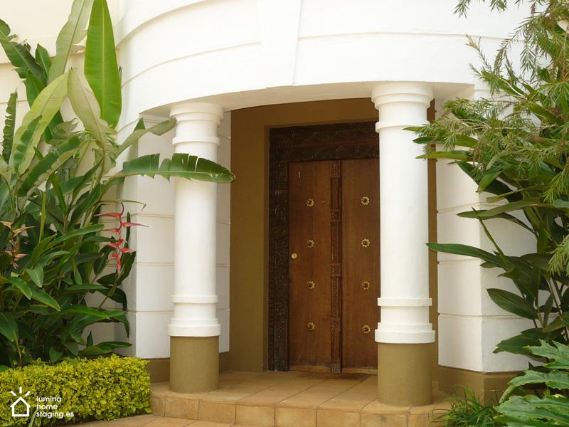 La entrada es lo primero que ves cuando visitas una casa