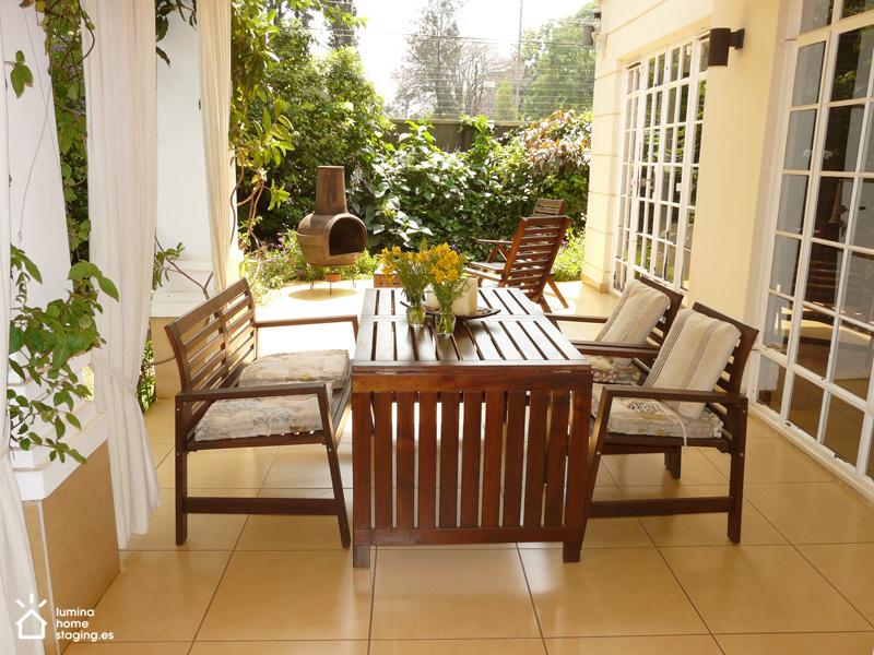 La terraza; un sitio para comer