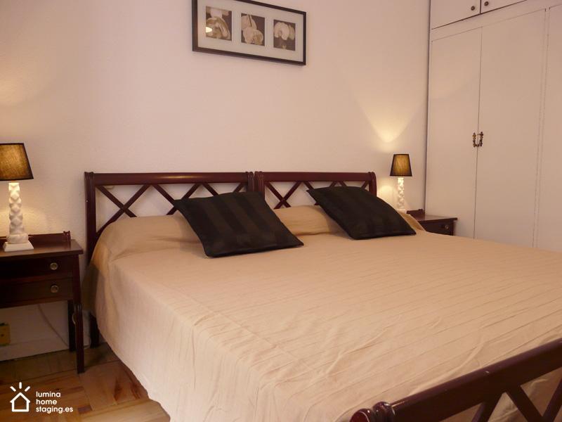 Un ambiente de un hotel de lujo: este es el efecto deseado en el dormitorio principal