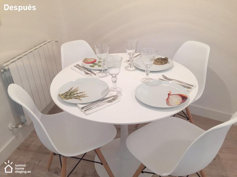 Unos detalles, como son platos bonitos en la mesa, hacen que el viajero se sienta bienvenido