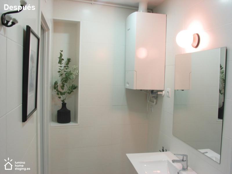 Toques sencillos como un espejo, luz y otros detalles, hacen la diferencia