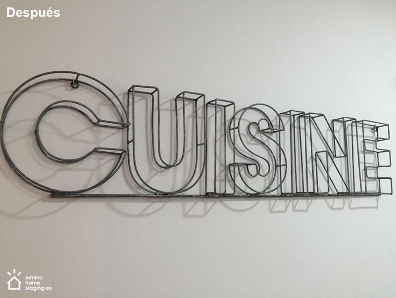 Un detalle de la cocina