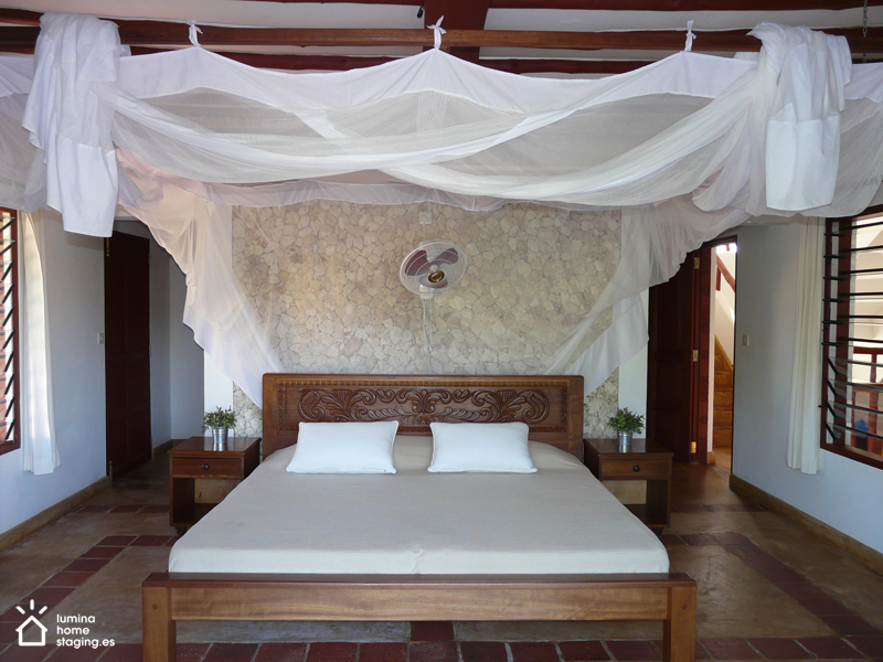 El dormitorio invita a descansar comodamente