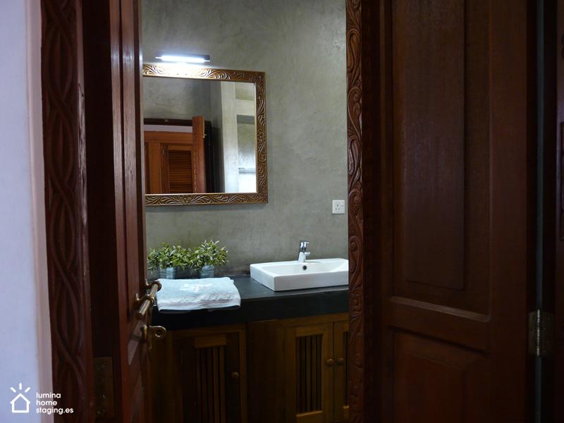 Elegancaia y sencillez es posible en el baño