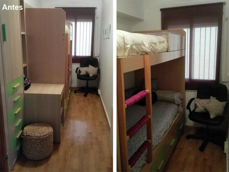Habitación infantil antes