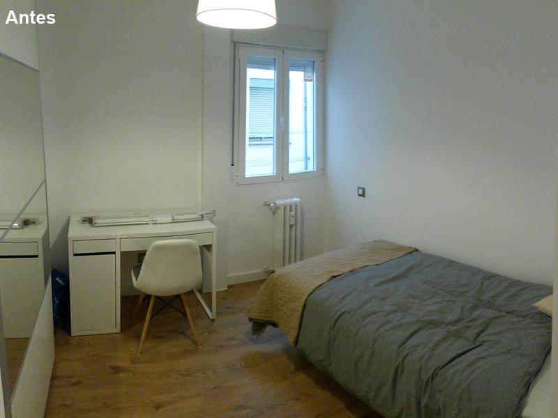Dormitorio 2 antes