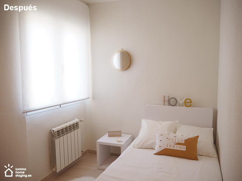 Dormitorio 2 después
