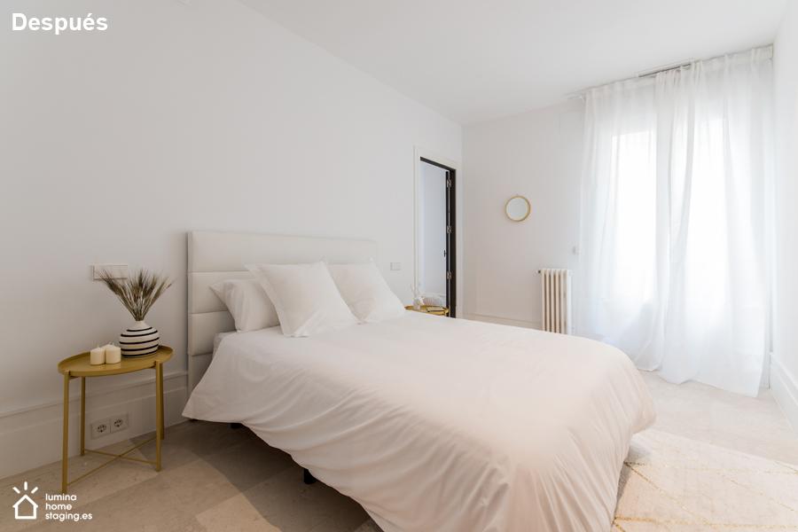 10 Dormitorio después que se presenta luminoso y cálido