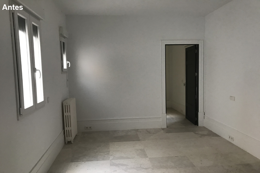 11 El dormitorio que se ve poco acogedor